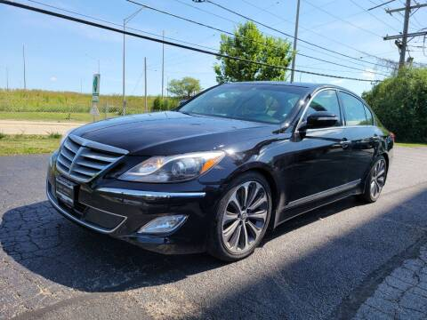 2013 Hyundai Genesis for sale at Luxury Imports Auto Sales and Service in Rolling Meadows IL