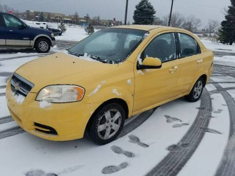 2008 Chevrolet Aveo for sale at Capital Fleet  & Remarketing  Auto Finance in Columbia Heights MN