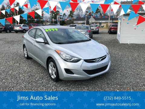 2013 Hyundai Elantra for sale at Jims Auto Sales in Lakehurst NJ