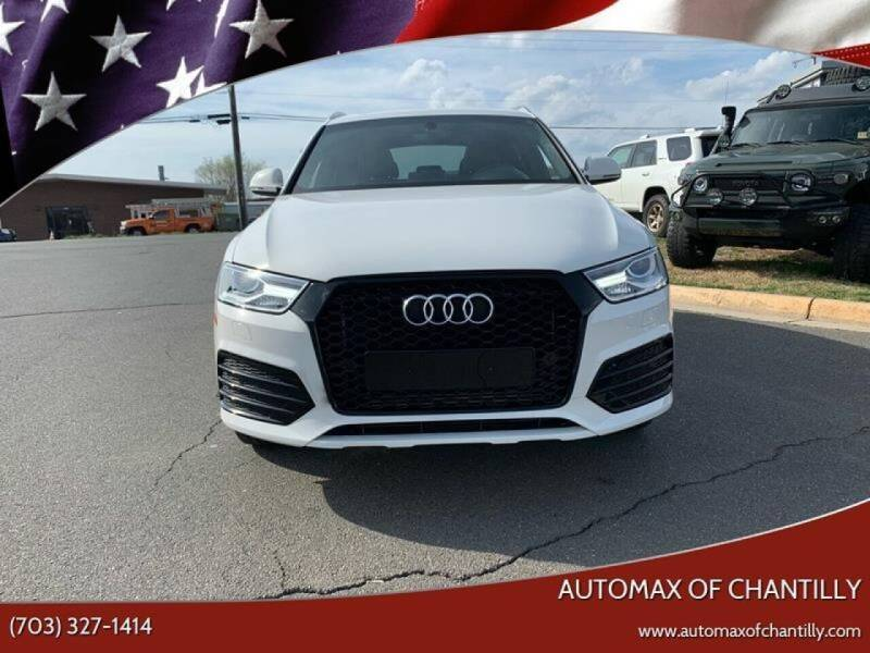 2018 Audi Q3 for sale at Automax of Chantilly in Chantilly VA