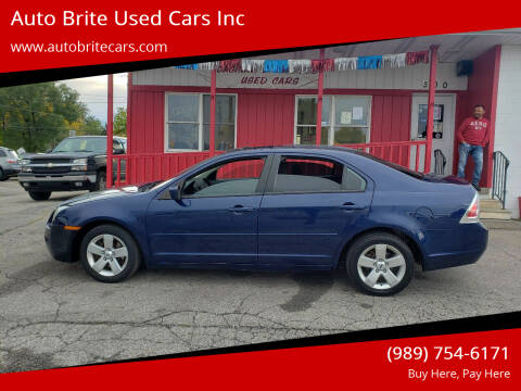 2006 Ford Fusion for sale at Auto Brite Used Cars Inc in Saginaw MI
