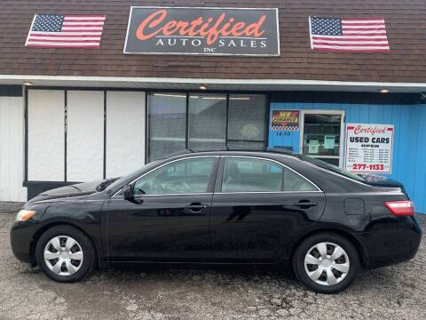 2008 Toyota Camry for sale at Certified Auto Sales, Inc in Lorain OH