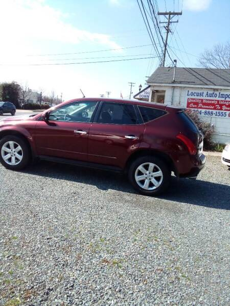 2006 Nissan Murano for sale at Locust Auto Imports in Locust NC