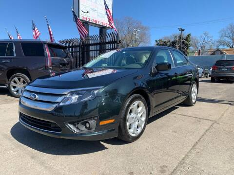 2010 Ford Fusion for sale at Gus's Used Auto Sales in Detroit MI