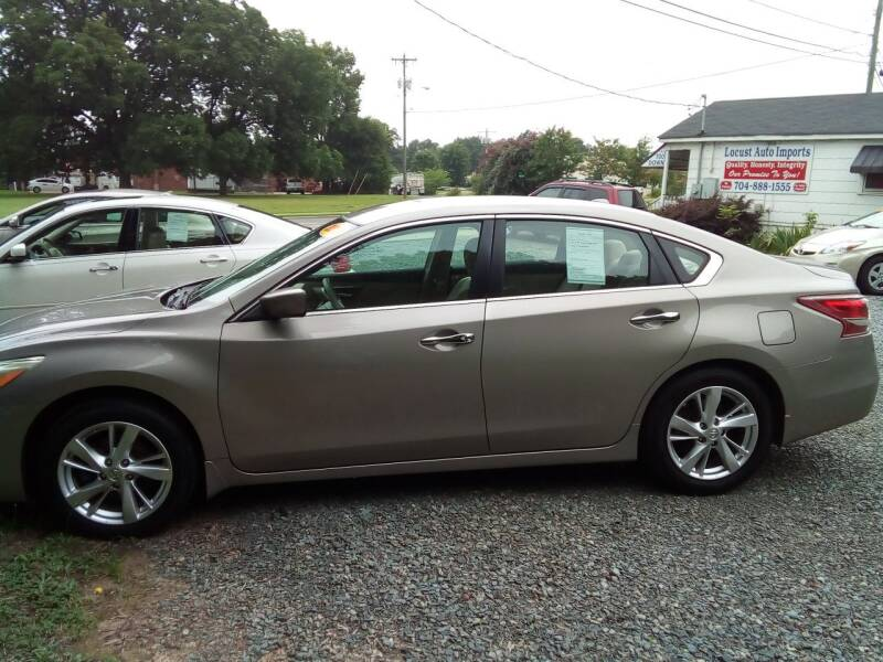 2013 Nissan Altima for sale at Locust Auto Imports in Locust NC