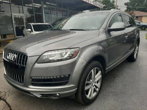 2013 Audi Q7 for sale at TOP YIN MOTORS in Mount Prospect IL