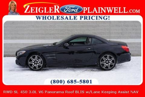 2020 Mercedes-Benz SL-Class for sale at Zeigler Ford of Plainwell- Jeff Bishop in Plainwell MI