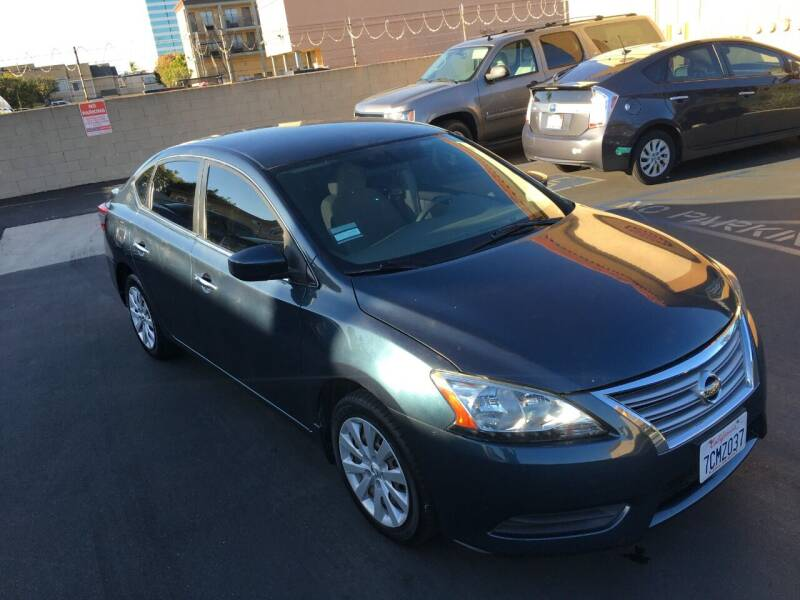 2013 Nissan Sentra for sale at American Wholesalers in Huntington Beach CA