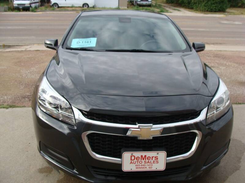 2016 Chevrolet Malibu Limited for sale at DeMers Auto Sales in Winner SD