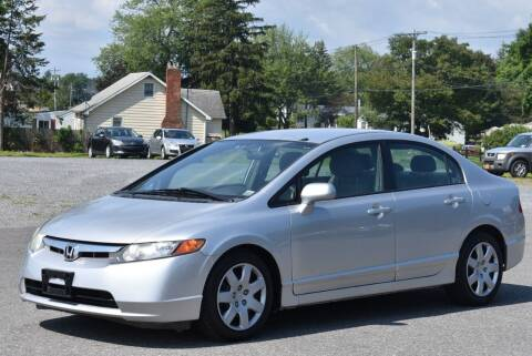 2007 Honda Civic for sale at Broadway Garage of Columbia County Inc. in Hudson NY