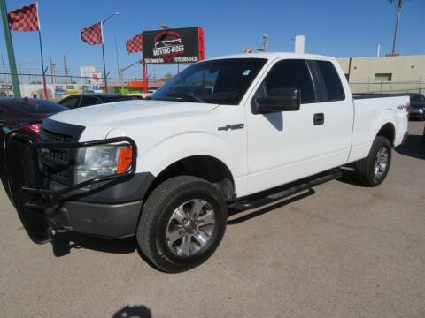 2013 Ford F-150 for sale at Moving Rides in El Paso TX