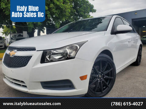 2013 Chevrolet Cruze for sale at Italy Blue Auto Sales llc in Miami FL