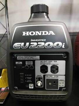 2021 Honda POWER EU2200i GENERATOR for sale at Irv Thomas Honda Suzuki Polaris in Corpus Christi TX
