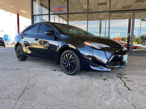 2018 Toyota Corolla for sale at South Commercial Auto Sales in Salem OR