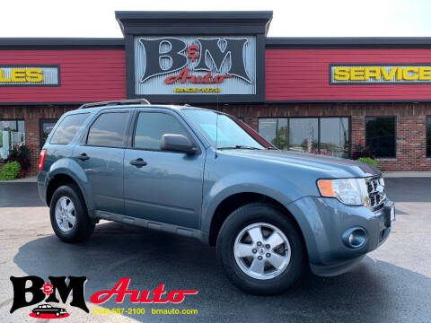 2012 Ford Escape for sale at B & M Auto Sales Inc. in Oak Forest IL
