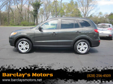 2010 Hyundai Santa Fe for sale at Barclay's Motors in Conover NC