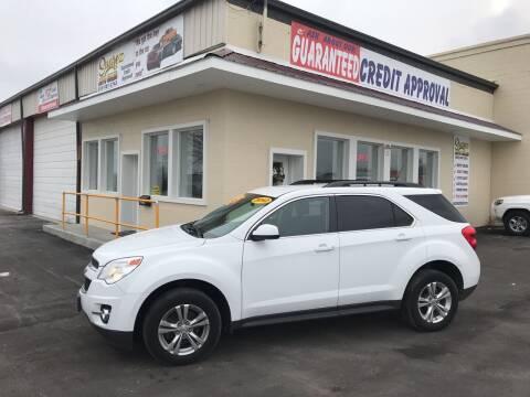 2012 Chevrolet Equinox for sale at Suarez Auto Sales in Port Huron MI