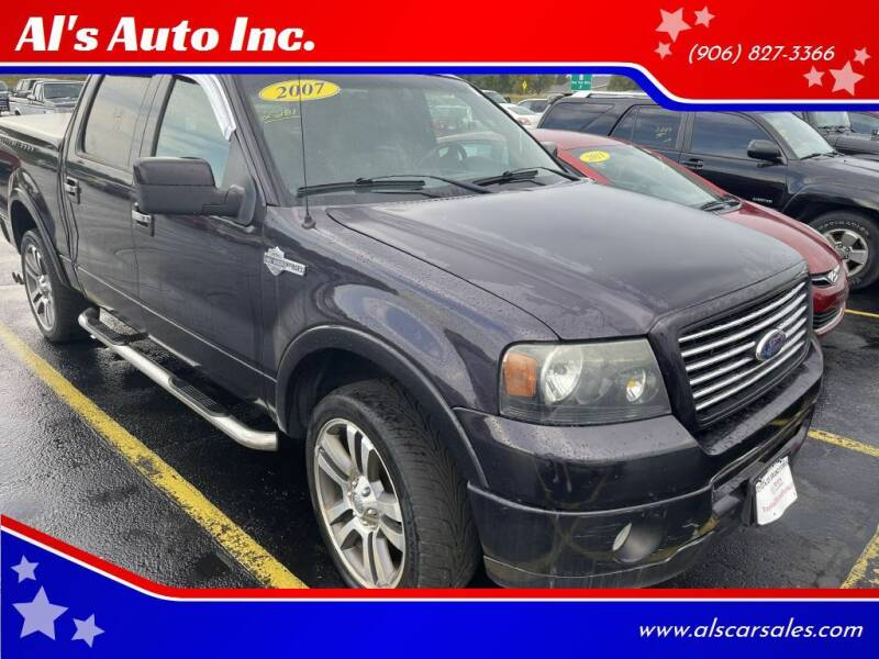 2007 Ford F-150 for sale at Al's Auto Inc. in Bruce Crossing MI
