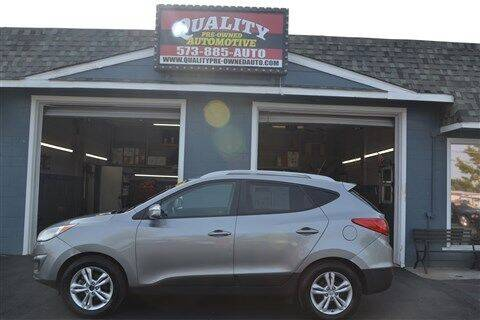 2012 Hyundai Tucson for sale at Quality Pre-Owned Automotive in Cuba MO