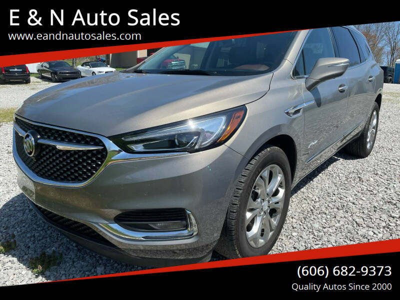 2019 Buick Enclave for sale at E & N Auto Sales in London KY
