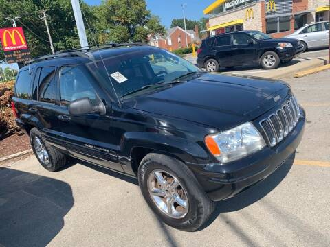 2002 Jeep Grand Cherokee for sale at Trocci's Auto Sales in West Pittsburg PA