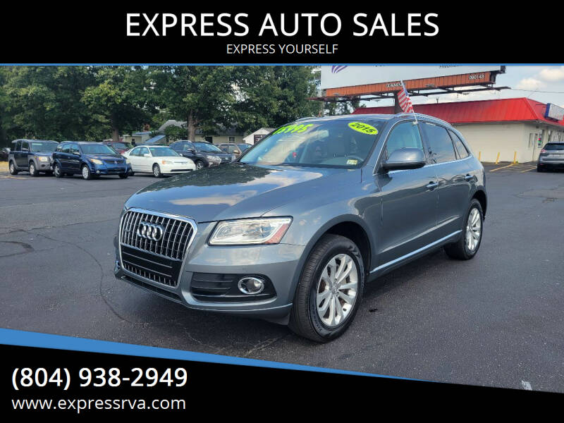 2015 Audi Q5 for sale at EXPRESS AUTO SALES in Midlothian VA