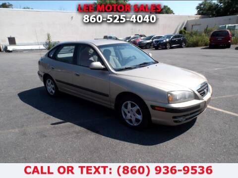 2006 Hyundai Elantra for sale at Lee Motor Sales Inc. in Hartford CT
