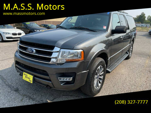 2017 Ford Expedition EL for sale at M.A.S.S. Motors - MASS MOTORS in Boise ID