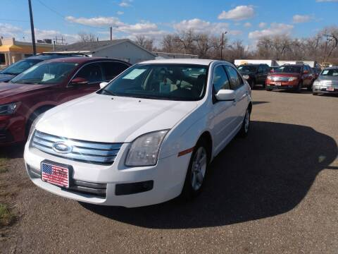 2007 Ford Fusion for sale at L & J Motors in Mandan ND