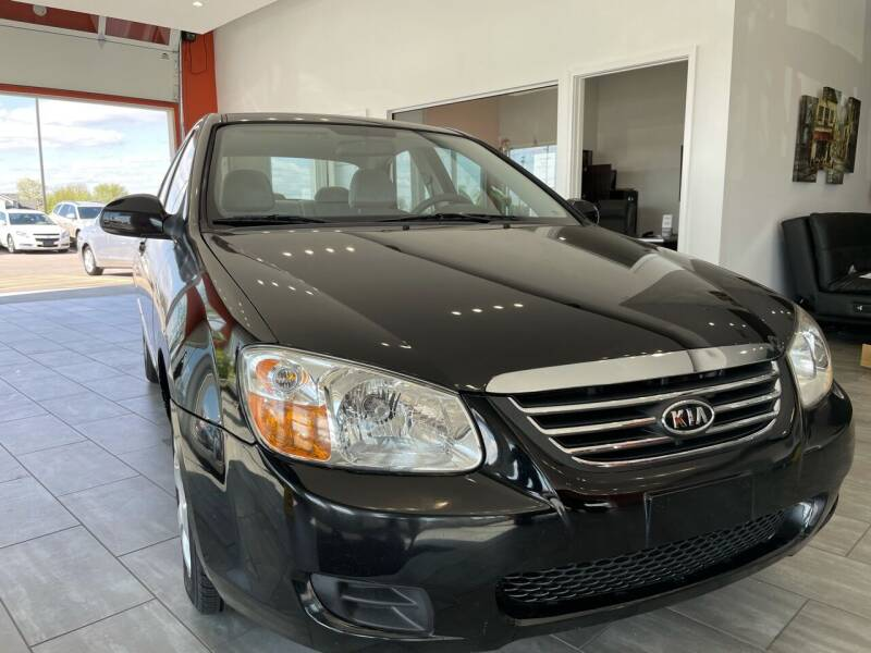 2009 Kia Spectra for sale at Evolution Autos in Whiteland IN