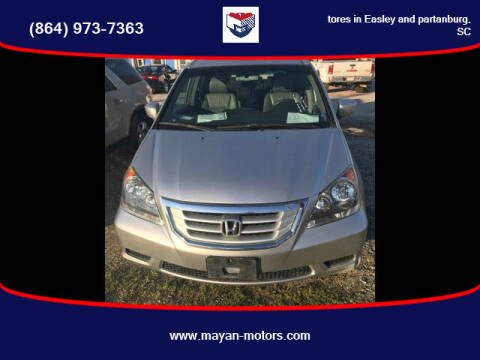 2010 Honda Odyssey for sale at Mayan Motors Easley in Easley SC
