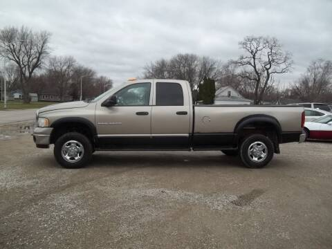 2003 Dodge Ram Pickup 2500 for sale at BRETT SPAULDING SALES in Onawa IA
