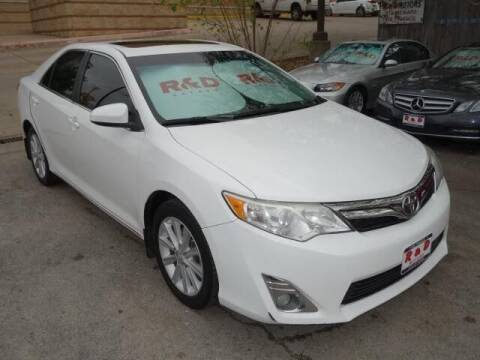 2013 Toyota Camry for sale at R & D Motors in Austin TX