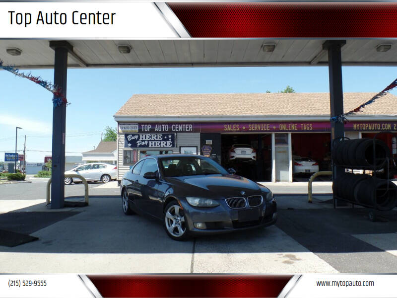 2008 BMW 3 Series for sale at Top Auto Center in Quakertown PA