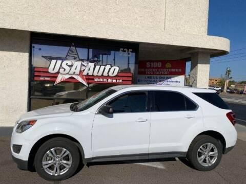 2017 Chevrolet Equinox for sale at USA Auto Inc in Mesa AZ
