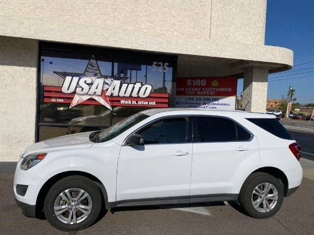 2017 Chevrolet Equinox for sale at USA Auto Inc in Mesa AZ