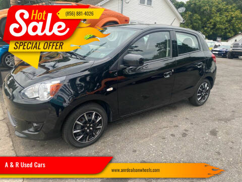 2015 Mitsubishi Mirage for sale at A & R Used Cars in Clayton NJ