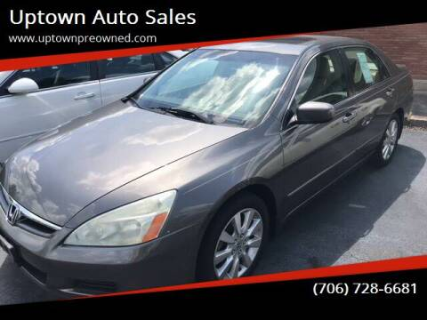 2007 Honda Accord for sale at Uptown Auto Sales in Rome GA