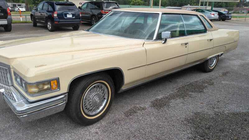 1976 Cadillac DeVille for sale at Haigler Motors Inc in Tyler TX