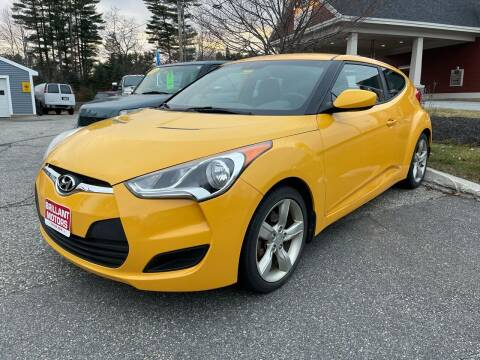 2013 Hyundai Veloster for sale at Brilliant Motors in Topsham ME