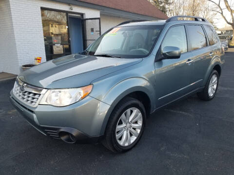 2011 Subaru Forester for sale at Cedar Auto Group LLC in Akron OH