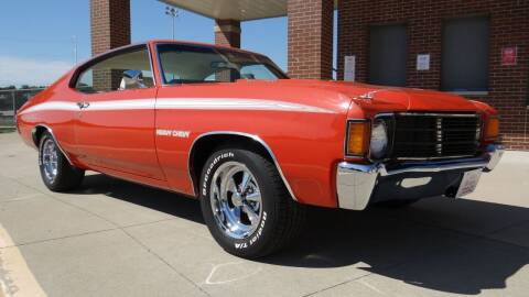 1972 Chevrolet Chevelle for sale at Klemme Klassic Kars in Davenport IA