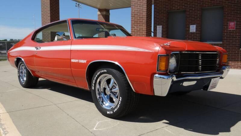 1972 Chevrolet Chevelle for sale at Klemme Klassic Kars in Davenport IA