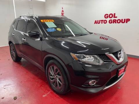 2016 Nissan Rogue for sale at GOL Auto Group in Austin TX