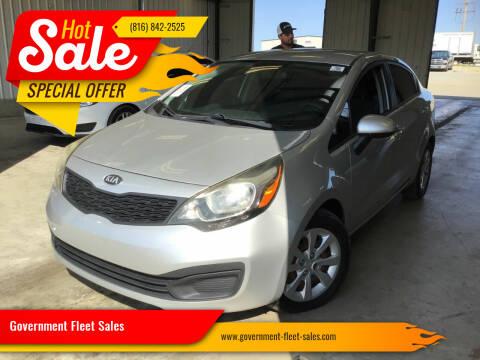 2013 Kia Rio for sale at Government Fleet Sales in Kansas City MO