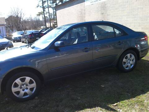 2009 Hyundai Sonata for sale at Action Auto Sales in Parkersburg WV