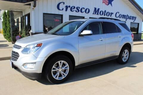 2016 Chevrolet Equinox for sale at Cresco Motor Company in Cresco IA