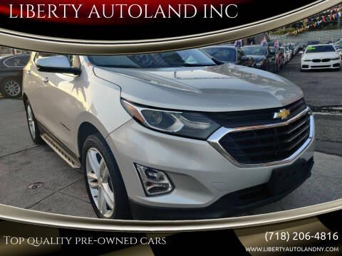 2019 Chevrolet Equinox for sale at LIBERTY AUTOLAND INC - LIBERTY AUTOLAND II INC in Queens Villiage NY