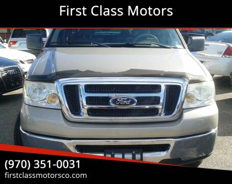 2008 Ford F-150 for sale at First Class Motors in Greeley CO