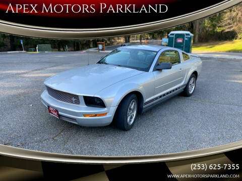 2005 Ford Mustang for sale at Apex Motors Parkland in Tacoma WA